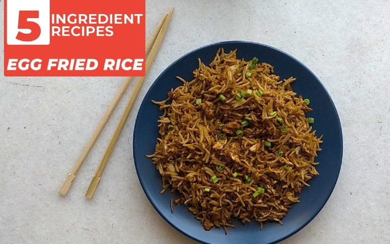 5-Ingredient Recipe: Street Style Egg Fried Rice
