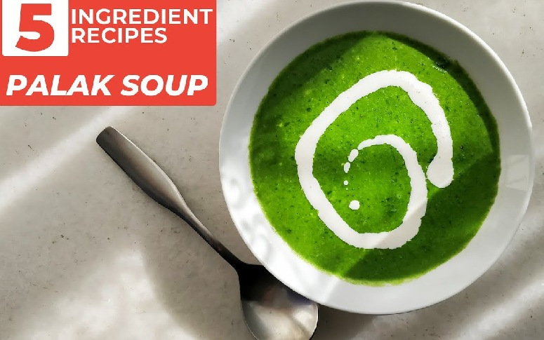 5-Ingredient Recipe: Healthy Spinach Soup