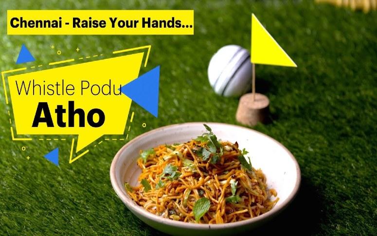 Chennai Street Food: Atho