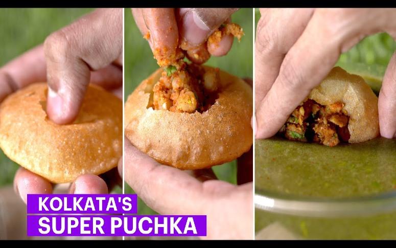 Kolkata Style Puchka