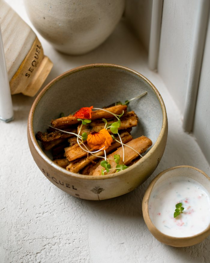The Smoked Lotus Root Fritters at Sequel are one of the newest appetisers