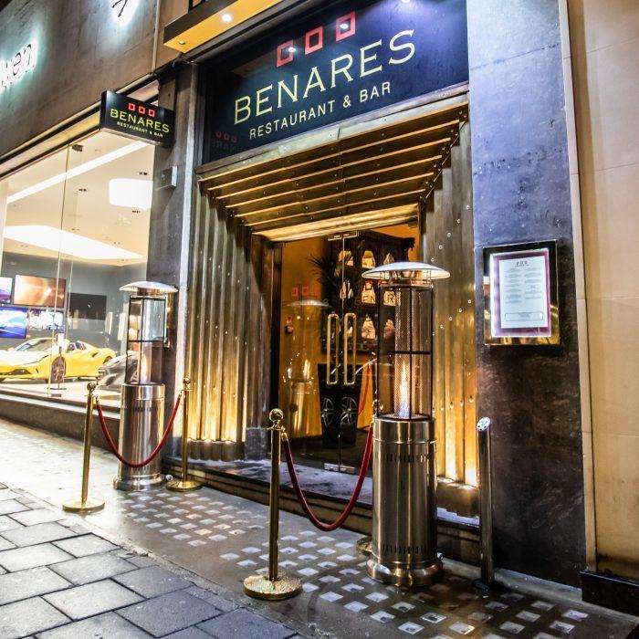 Michelin star awardee, Benares in Mayfair, London